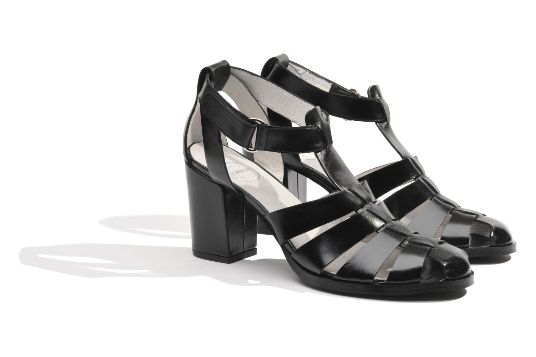 Sandalen Made by SARENZA Menthe Hello #2 Zwart achterkant
