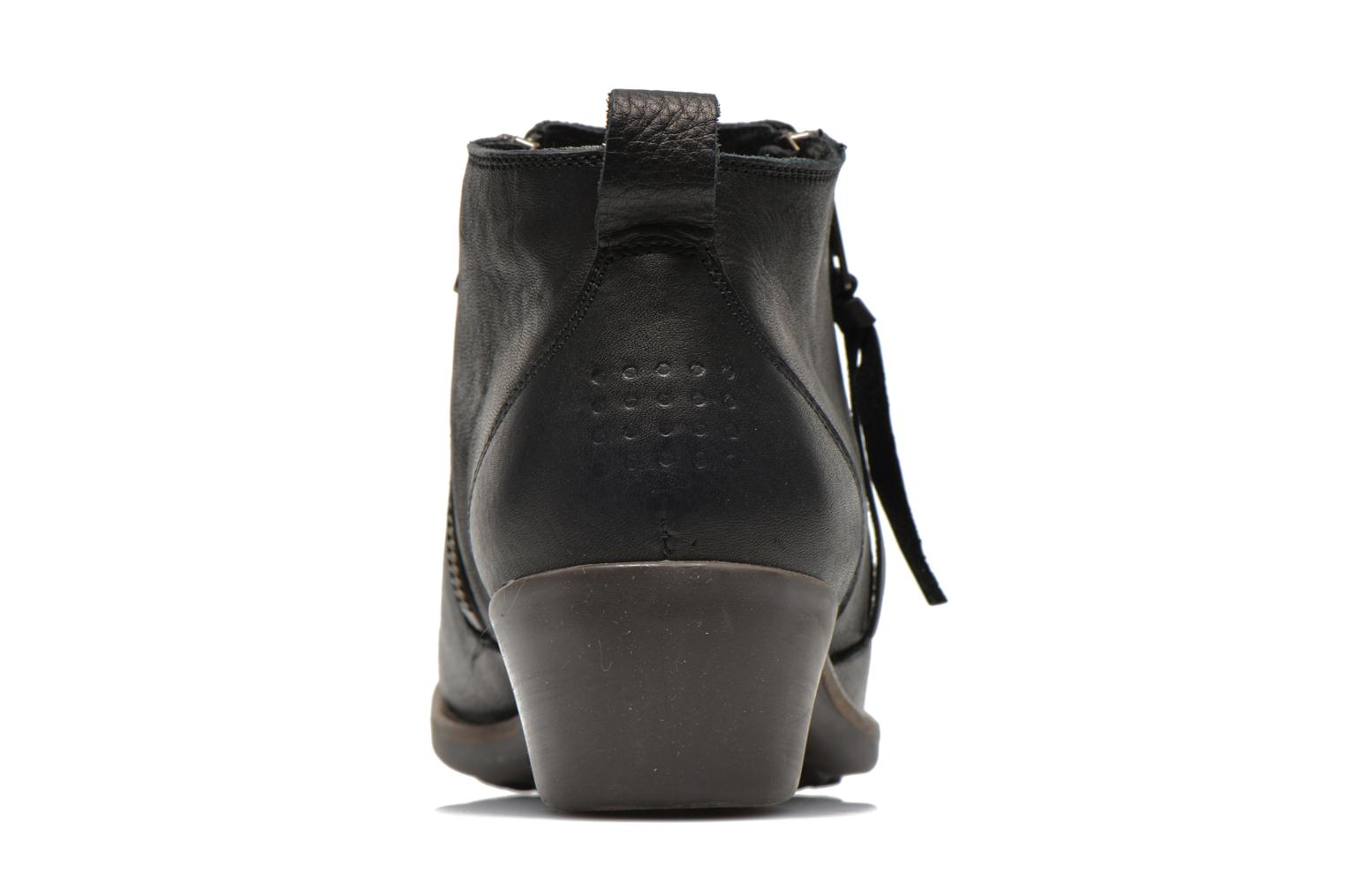 Ankle boots TBS Girlye Black view from the right