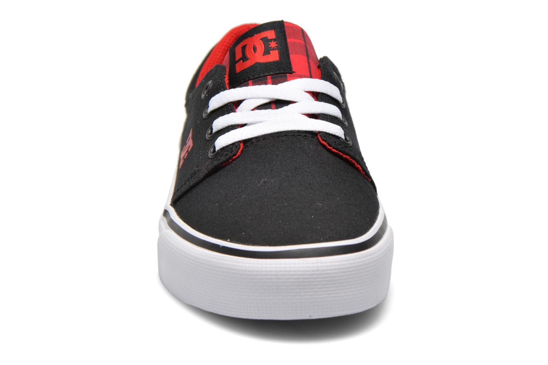 Baskets DC Shoes Trase Tx Se W Noir vue portées chaussures