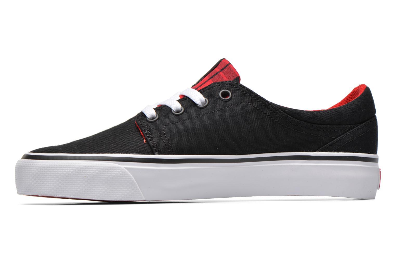 Sneakers DC Shoes Trase Tx Se W Zwart voorkant