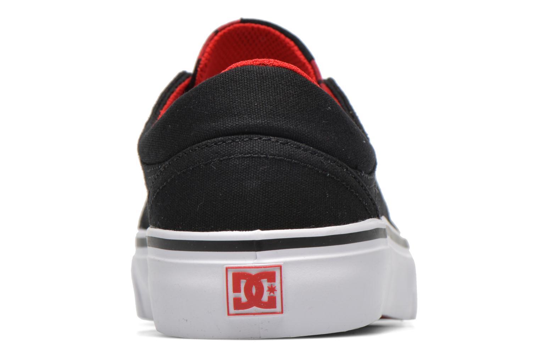 Baskets DC Shoes Trase Tx Se W Noir vue droite