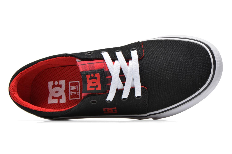 Baskets DC Shoes Trase Tx Se W Noir vue gauche