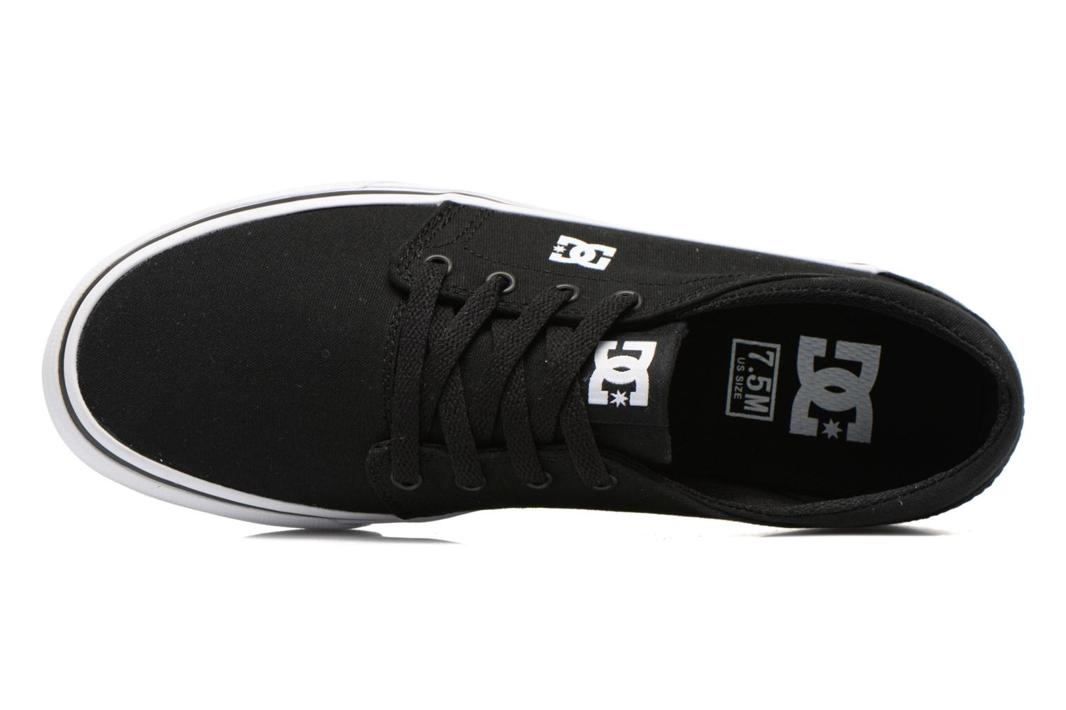 Trainers DC Shoes Trase Tx Black view from the left