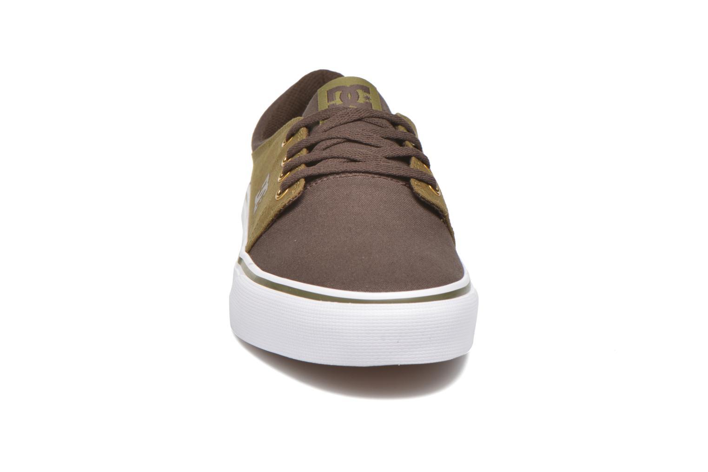 Baskets DC Shoes Trase Tx Vert vue portées chaussures
