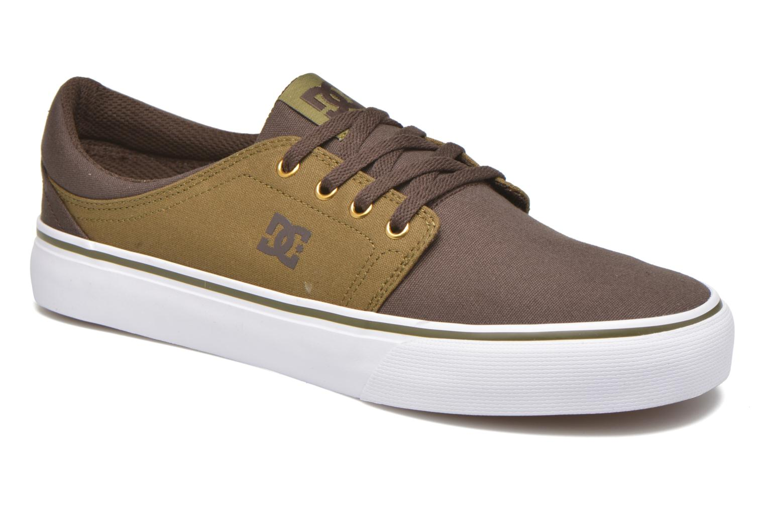 Navy/Camel DC Shoes Trase Tx (Bleu)