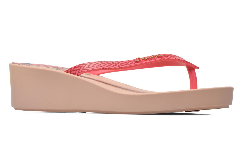 Zehensandalen Ipanema Art Deco rosa ansicht von hinten