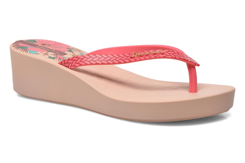 Zehensandalen Ipanema Art Deco rosa detaillierte ansicht/modell
