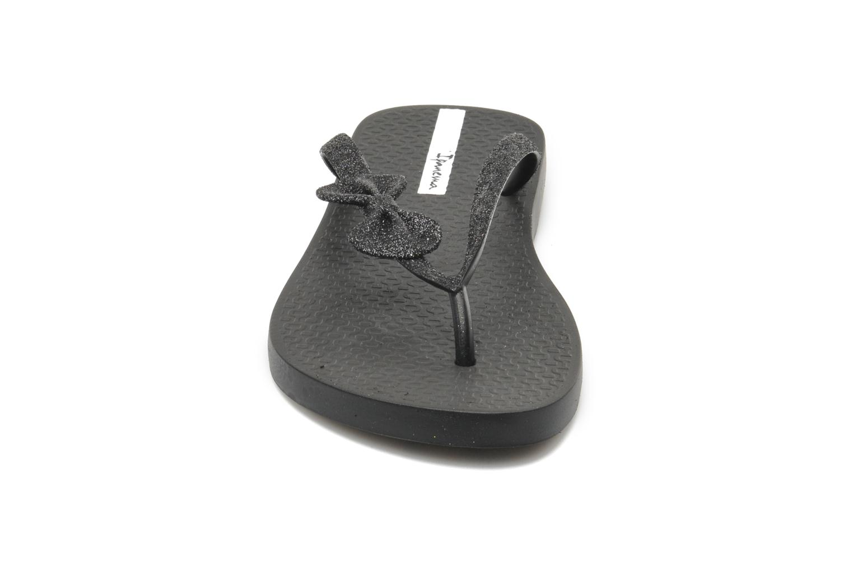 Tongs Ipanema Lolita II Noir vue portées chaussures