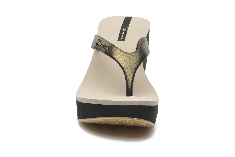Zehensandalen Ipanema Samba schwarz schuhe getragen