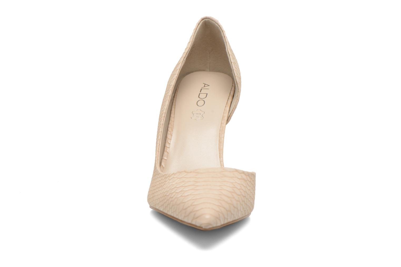 Escarpins Aldo Aceidia Beige vue portées chaussures