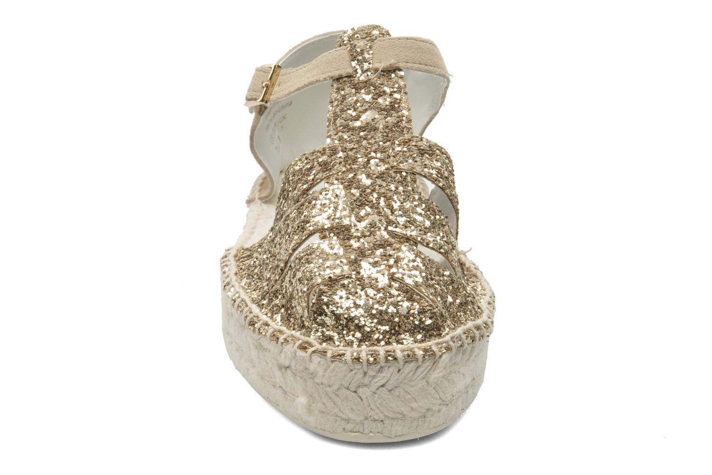 Sandales et nu-pieds Aldo Padgham Or et bronze vue portées chaussures
