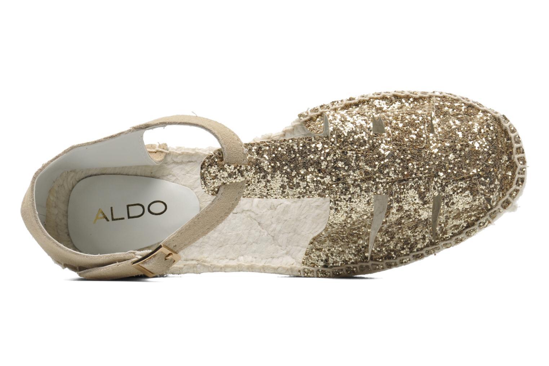 Sandales et nu-pieds Aldo Padgham Or et bronze vue gauche