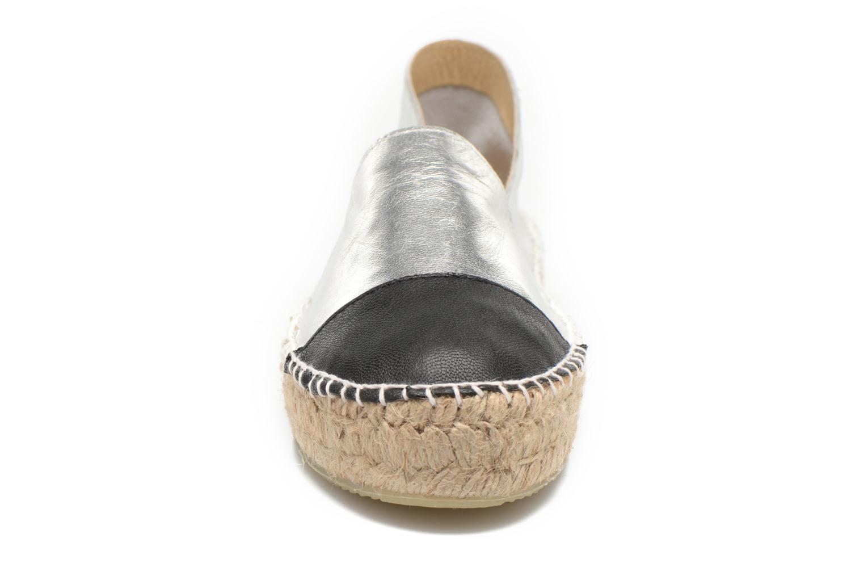 Espadrilles Aldo Smolin silber schuhe getragen