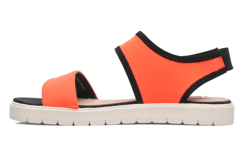 Sandales et nu-pieds Steve Madden PRESSIN Orange vue face