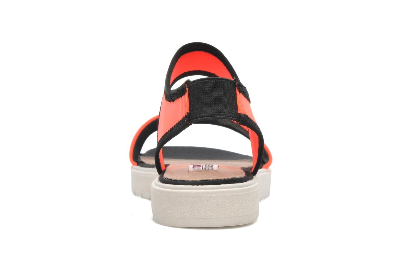 Sandales et nu-pieds Steve Madden PRESSIN Orange vue droite