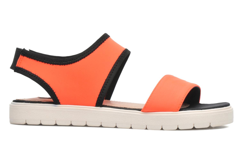 Sandales et nu-pieds Steve Madden PRESSIN Orange vue derrière