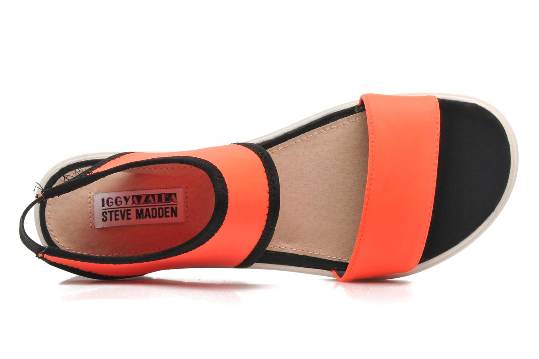 Sandales et nu-pieds Steve Madden PRESSIN Orange vue gauche