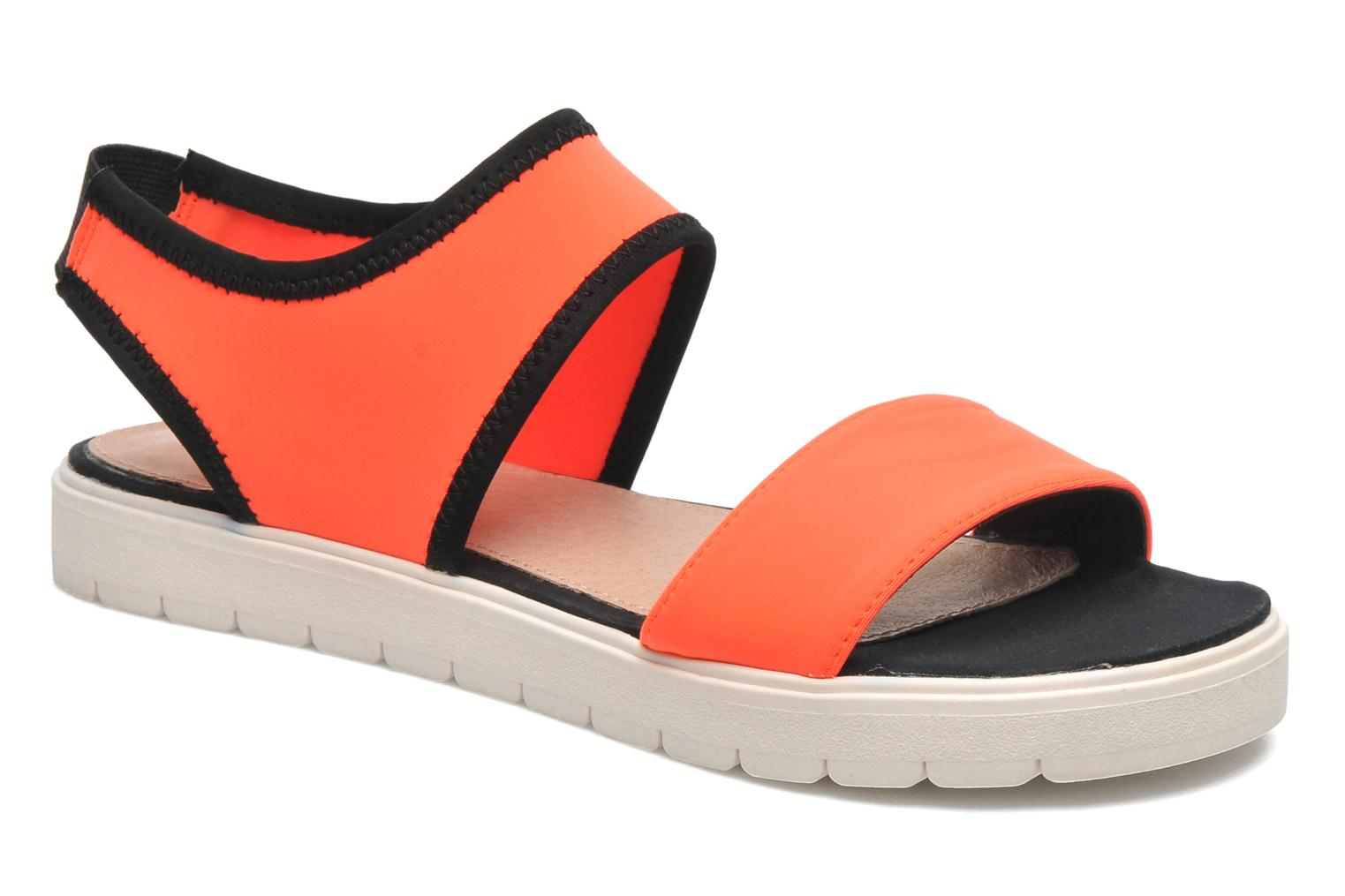 Marques Chaussure femme Steve Madden femme PRESSIN NEON CORAL MULTI