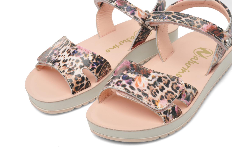 Sandales et nu-pieds Naturino Donna 6003 Multicolore vue 3/4