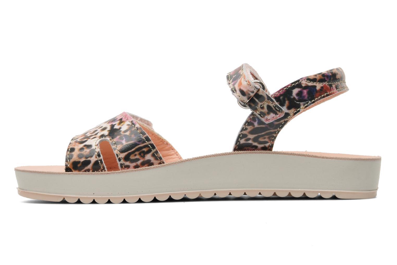 Sandales et nu-pieds Naturino Donna 6003 Multicolore vue face