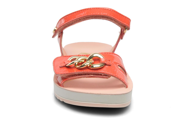 Sandales et nu-pieds Naturino Chiara 6004 Orange vue portées chaussures
