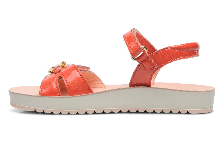 Sandales et nu-pieds Naturino Chiara 6004 Orange vue face