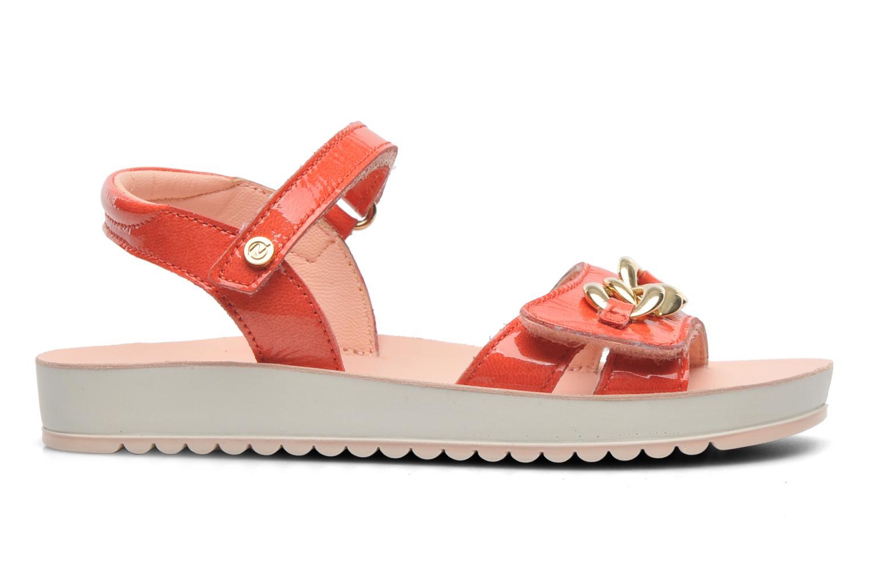Sandales et nu-pieds Naturino Chiara 6004 Orange vue derrière