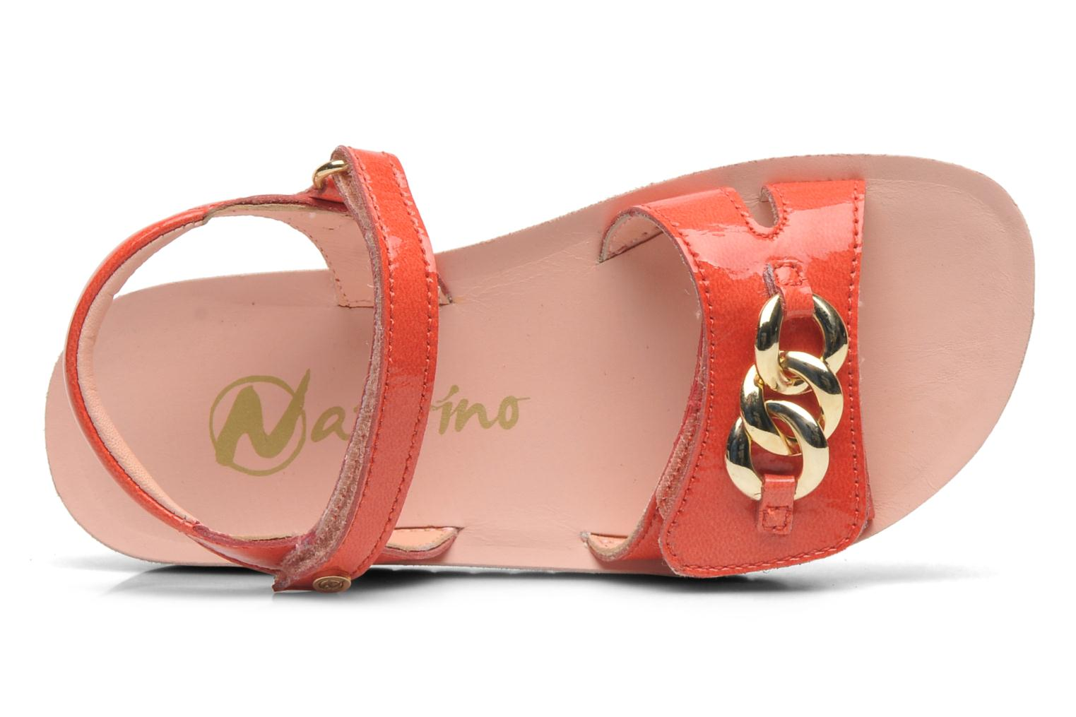 Sandalen Naturino Chiara 6004 orange ansicht von links