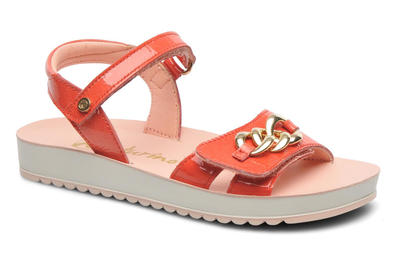 Sandales et nu-pieds Naturino Chiara 6004 Orange vue détail/paire