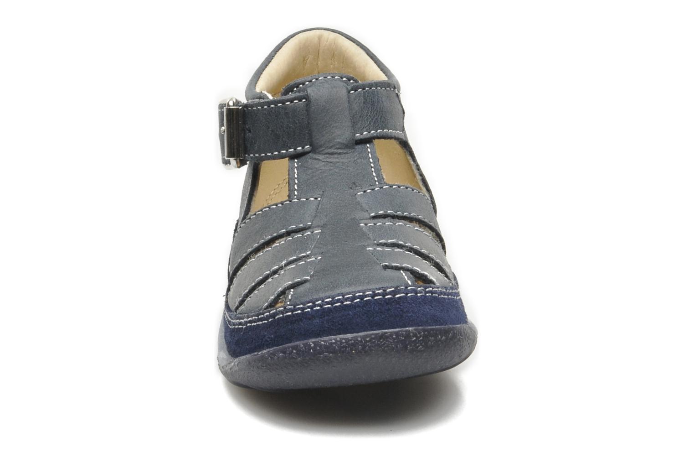 Sandales et nu-pieds Naturino Andrea 163 Bleu vue portées chaussures
