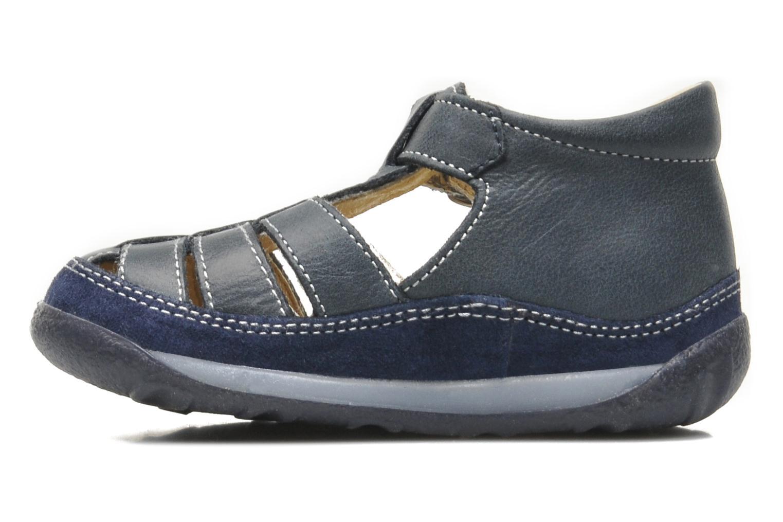 Sandales et nu-pieds Naturino Andrea 163 Bleu vue face
