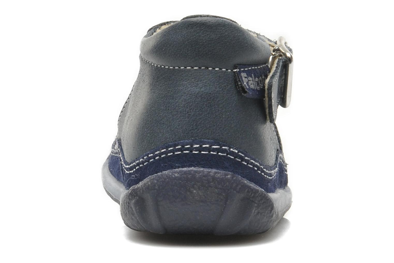 Sandales et nu-pieds Naturino Andrea 163 Bleu vue droite