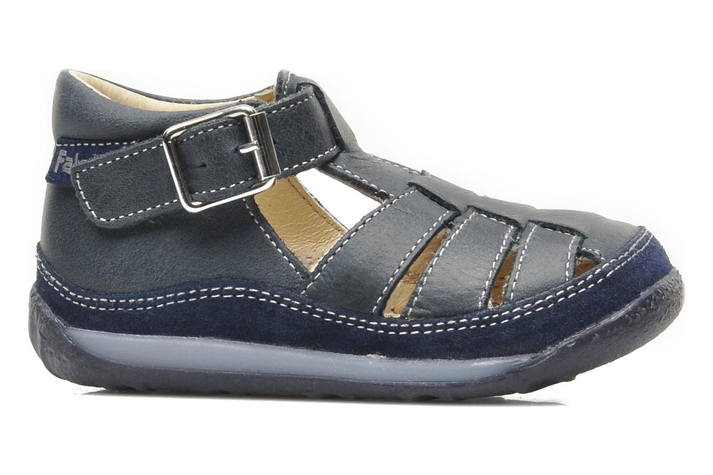 Sandales et nu-pieds Naturino Andrea 163 Bleu vue derrière