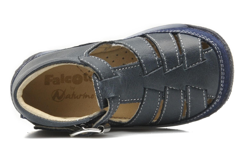 Sandales et nu-pieds Naturino Andrea 163 Bleu vue gauche