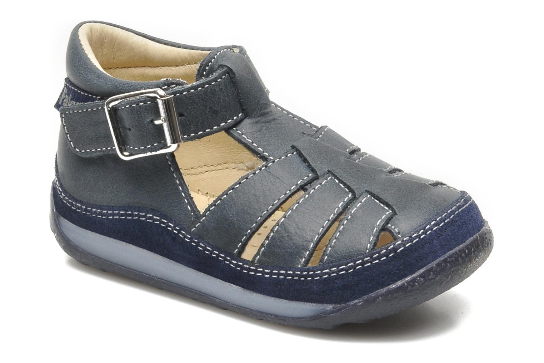 Sandales et nu-pieds Naturino Andrea 163 Bleu vue détail/paire
