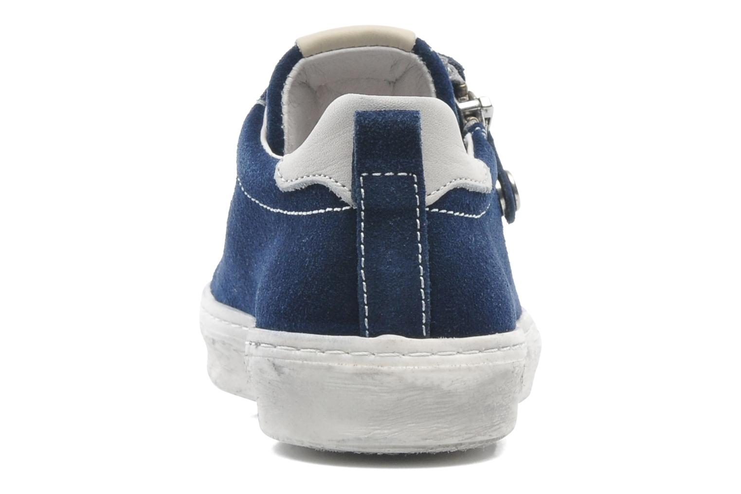 Trainers Naturino Sofia Blue view from the right