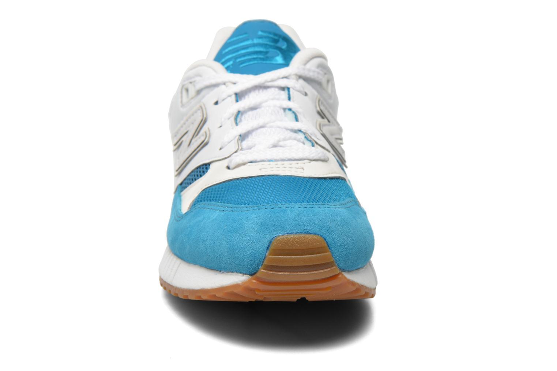 Baskets New Balance M530 Bleu vue portées chaussures