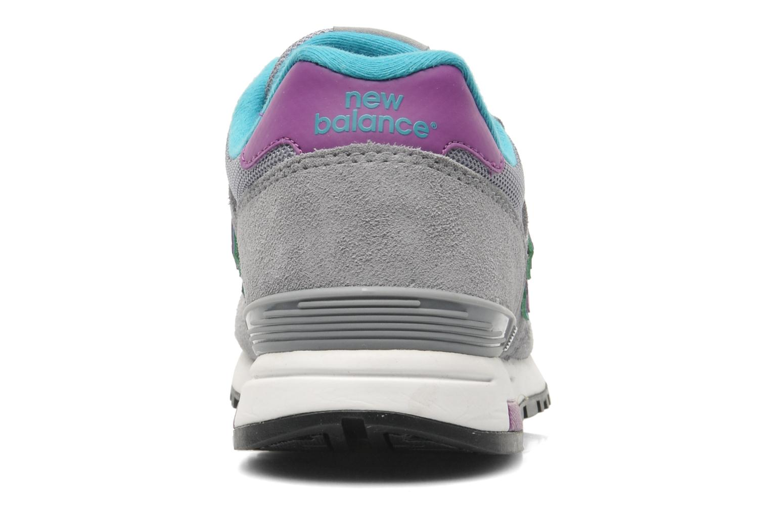 Baskets New Balance WL565 Gris vue face