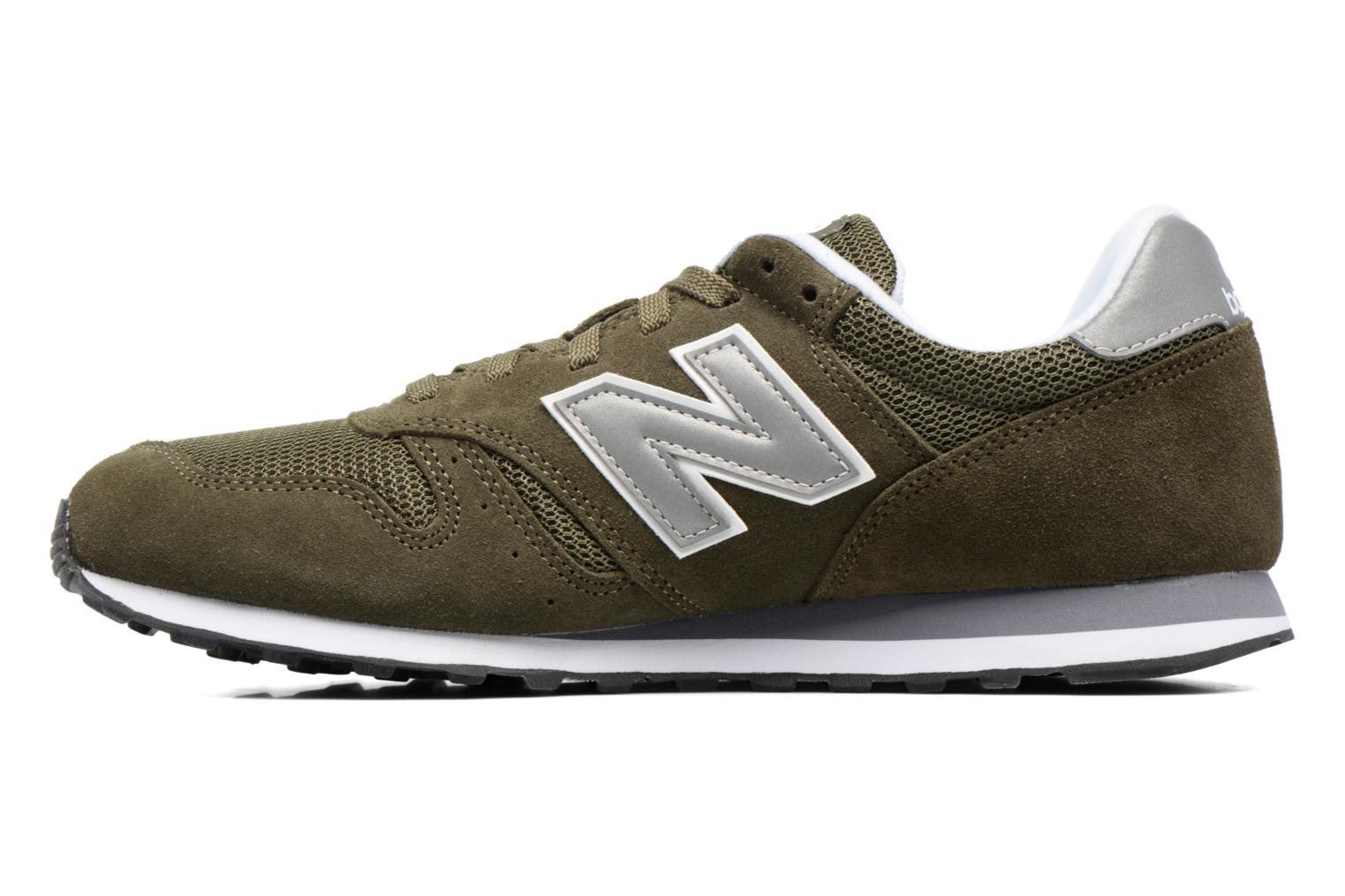 Trainers New Balance ML373 Green front view