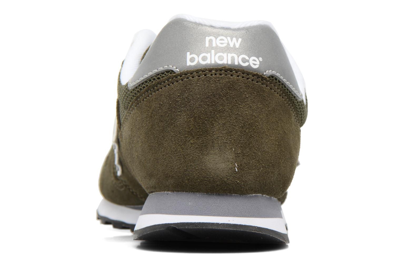 Baskets New Balance ML373 Vert vue droite