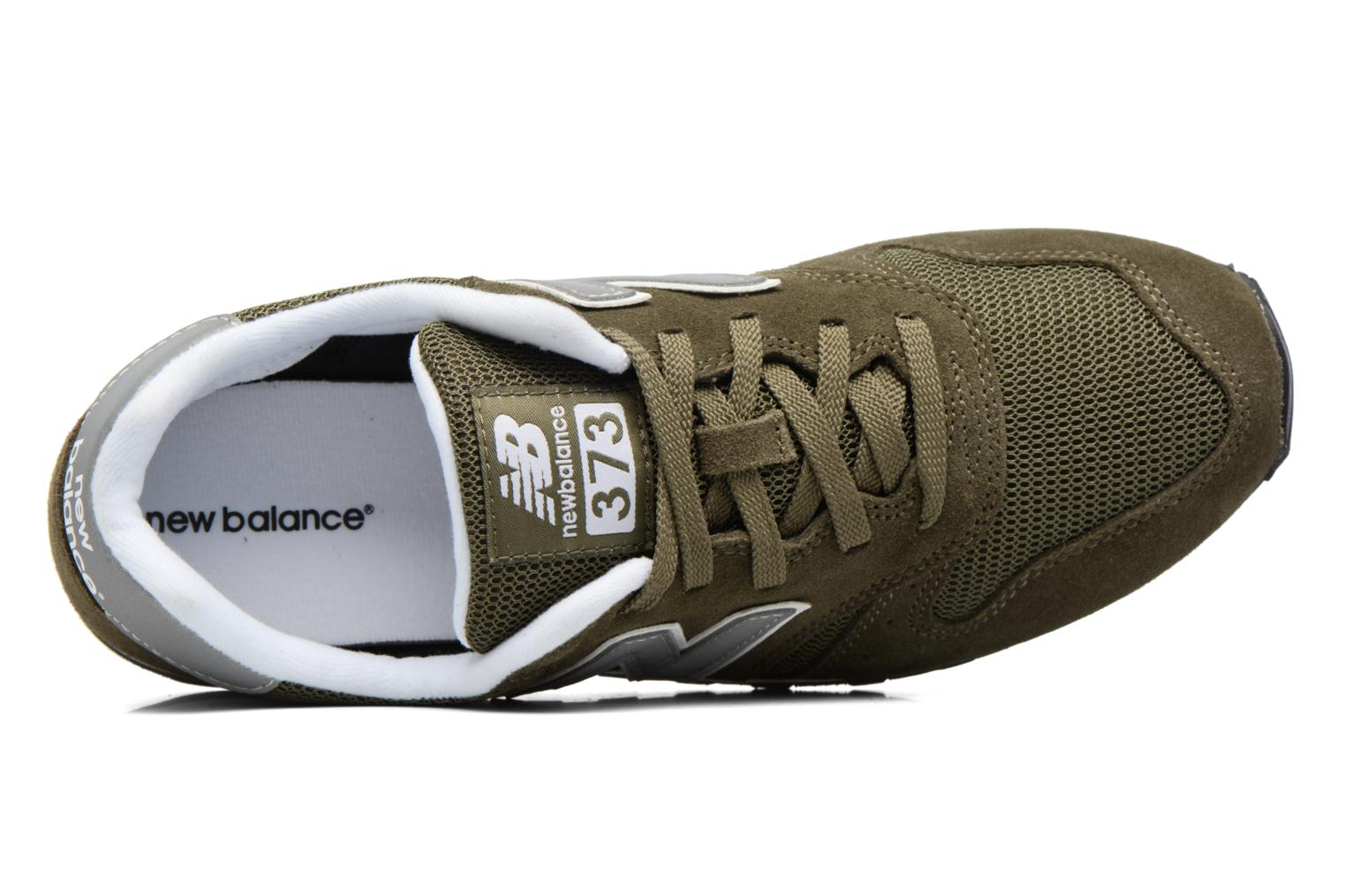 Trainers New Balance ML373 Green view from the left