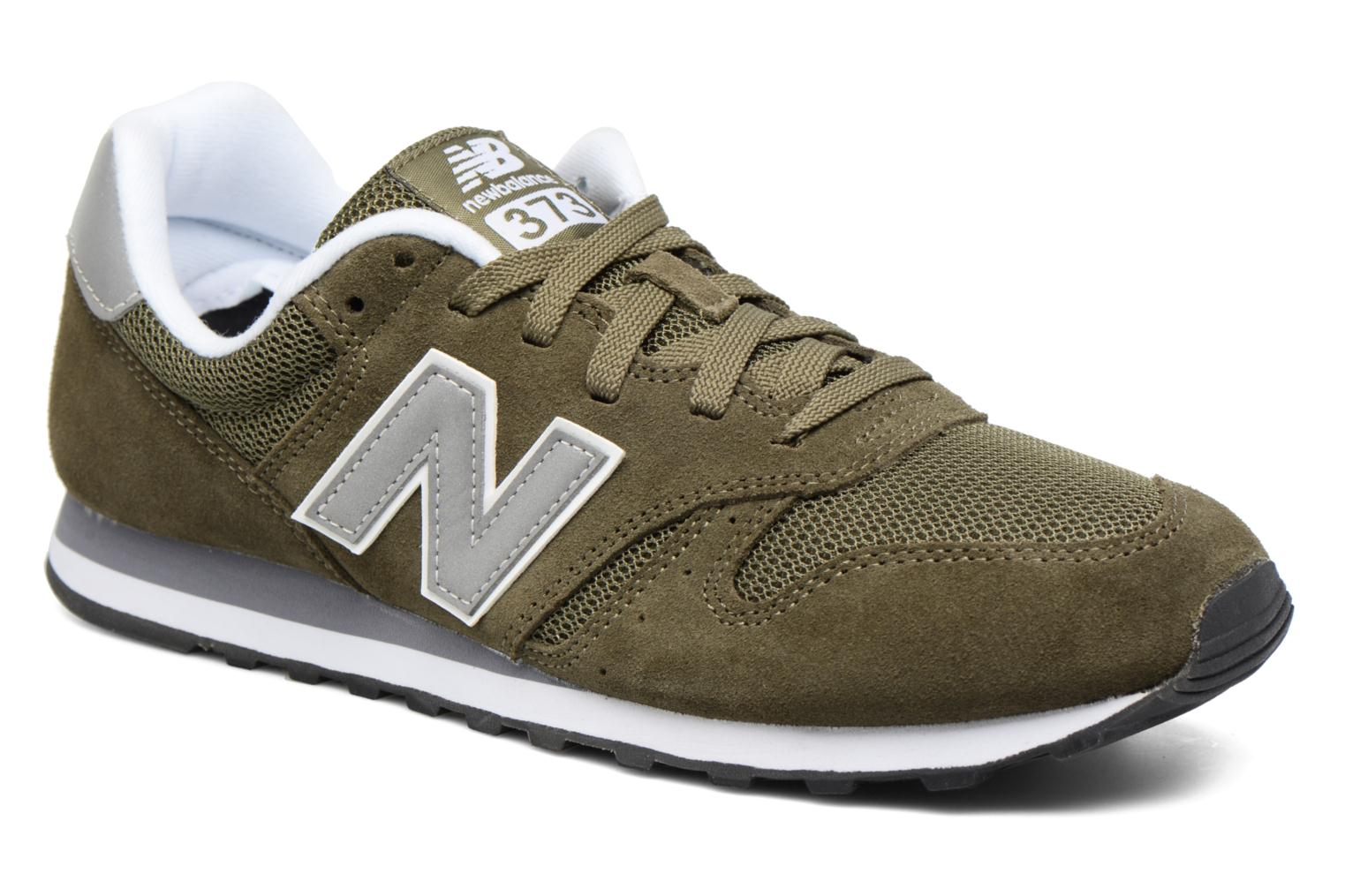 Trainers New Balance ML373 Green detailed view/ Pair view