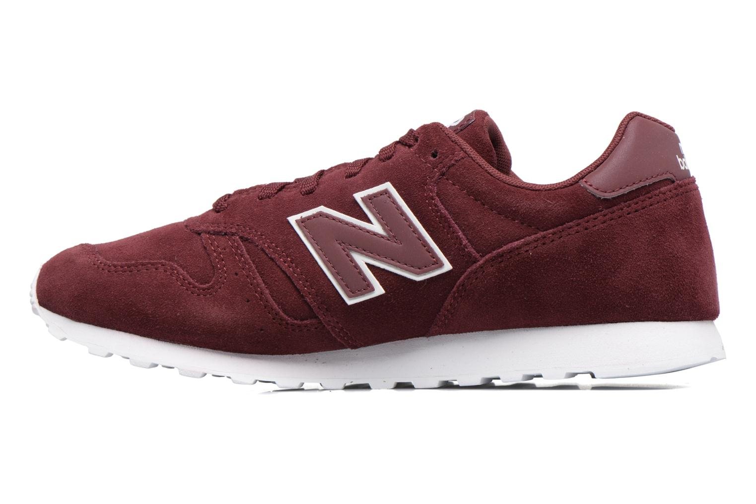 Baskets New Balance ML373 Bordeaux vue face