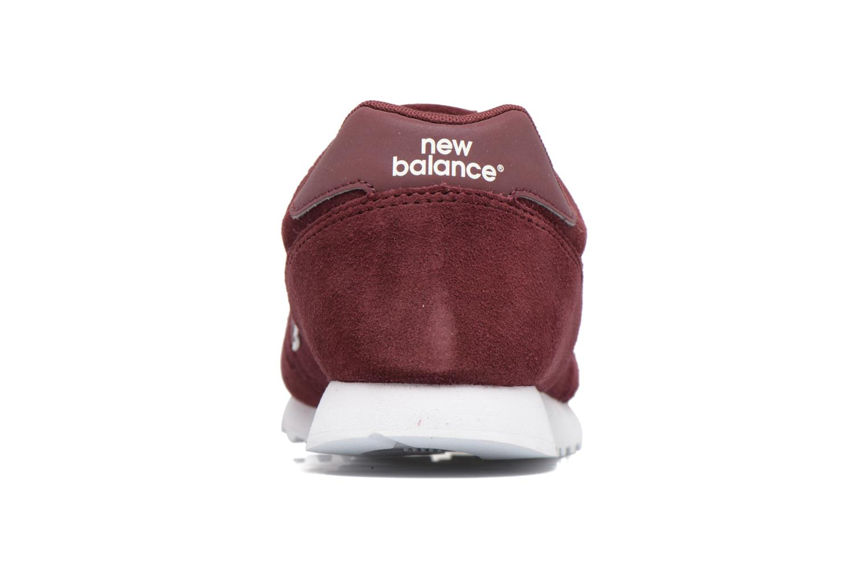 Sneaker New Balance ML373 weinrot ansicht von rechts