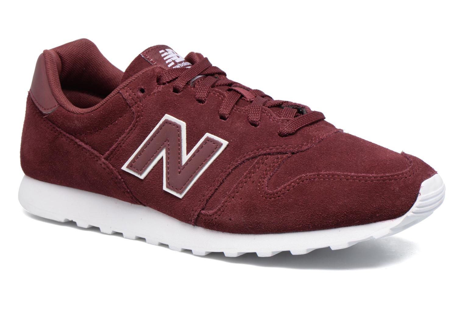 Baskets New Balance ML373 Bordeaux vue détail/paire