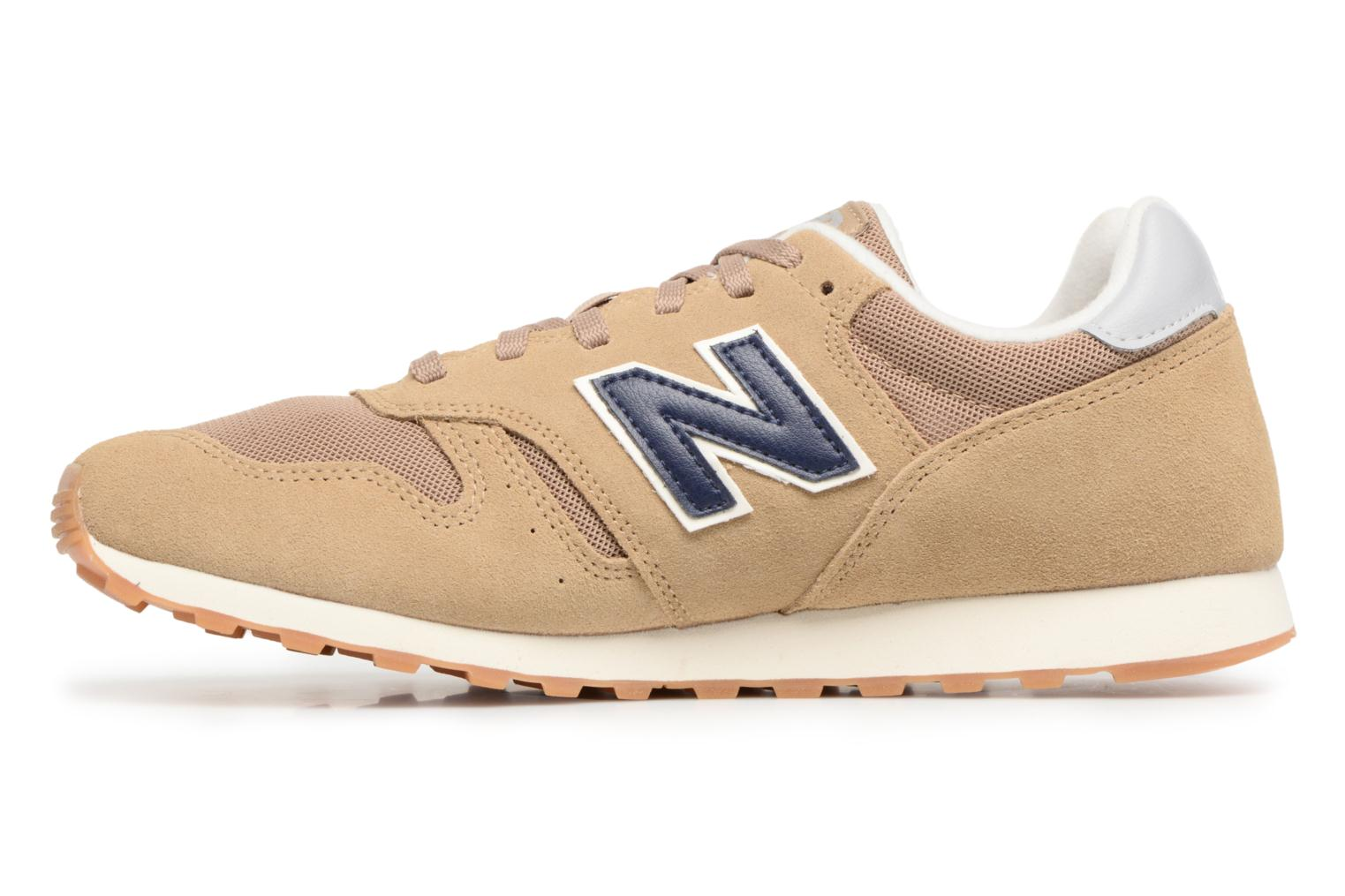 Baskets New Balance ML373 Beige vue face