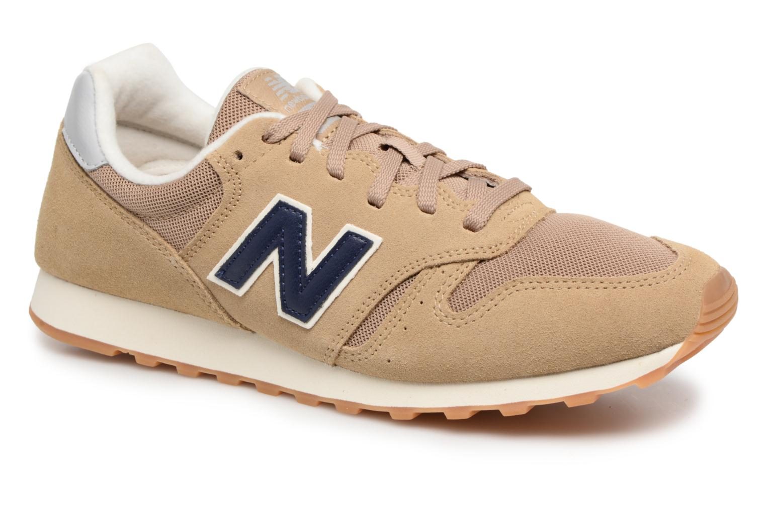 Baskets New Balance ML373 Beige vue détail/paire