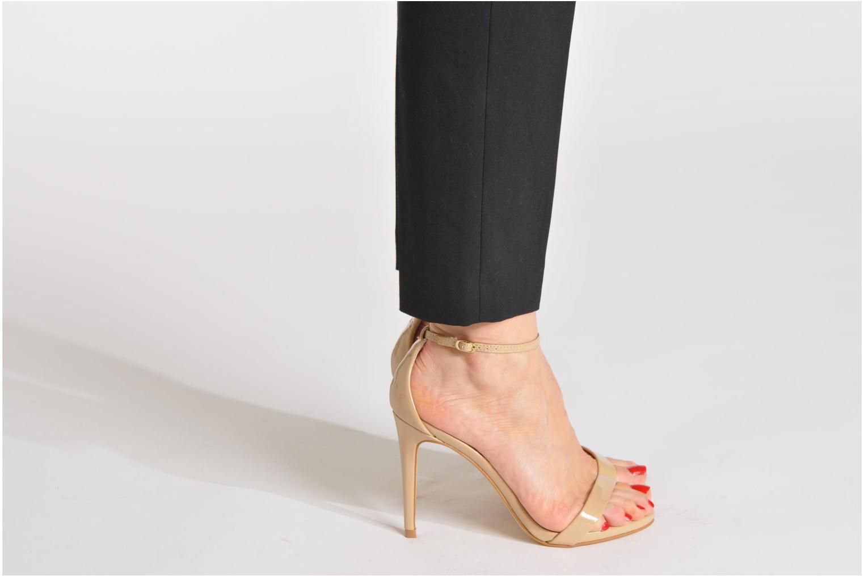 Sandalen Steve Madden Stecy Sandal beige ansicht von unten / tasche getragen