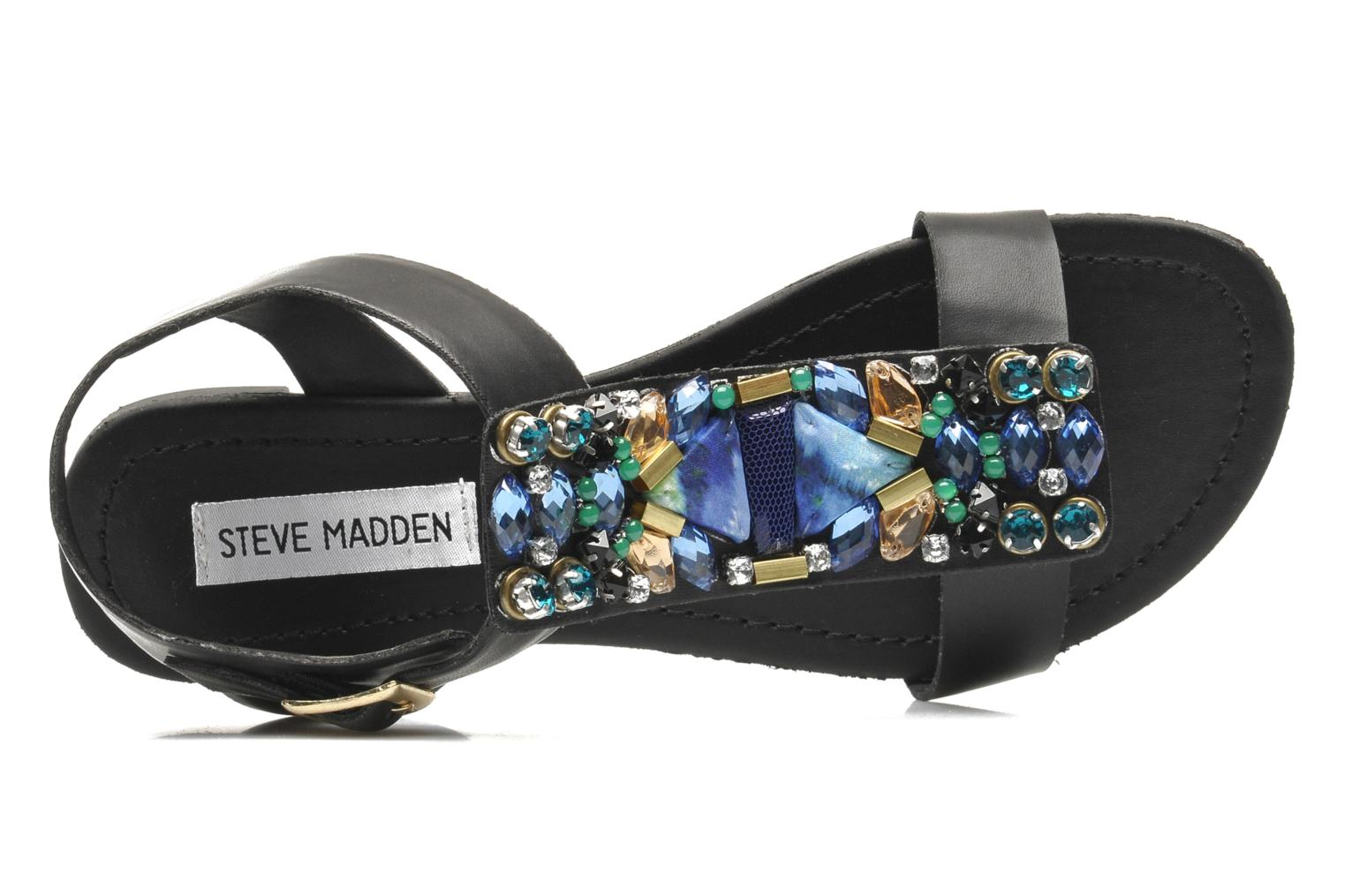 Sandals Steve Madden WIKTOR Black view from the left