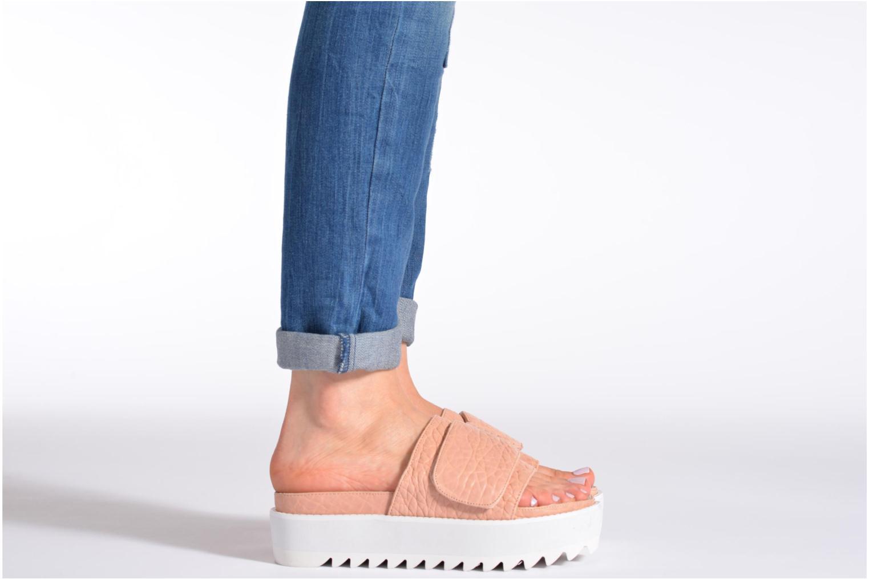Clogs & Pantoletten Intentionally blank Reture braun ansicht von unten / tasche getragen